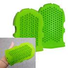 Massage Glove GREEN /High quality Silicone /cellulite remover /blood circulation
