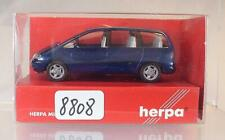 Herpa 1/87 Nr. 032124 Seat Alhambra Van Bus dunkelblaumetallic OVP #8808