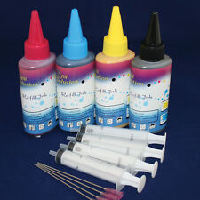 400ML Quality Pigment ink kits set for Canon Printer refillable cartridge & CISS