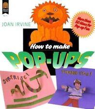 How to Make Pop-Ups, Irvine, Joan, 0688079024, Book, Good