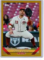 Joey Votto 2019 Topps Archives 5x7 Gold #238 /10 Reds