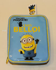 Despicable Me Minions Bello Blue Printed Insulated Lunch Box Cooler Bag New