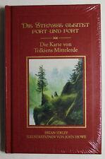 Die Straße gleitet fort und fort - Buch mit Karte von Tolkien`s Mittelerde *eb