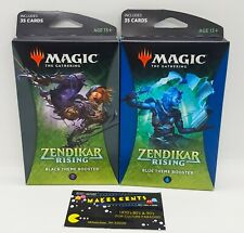 Set of 2 - Magic the Gathering Zendikar Rising Theme Booster - (Presell) 9/26/20