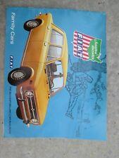 vintage FIAT-ROOSEVELT MOTORS sales catalog