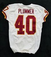 #40 Terrance Plummer of Washington Redskins NFL Locker Room Game Issued Jersey