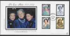 "2002 Queen Mother Commemoration Illus. Cover Cancelled ""Windsor"""