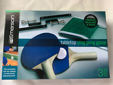 Emerson-Tabletop Ping Pong Game-NEW IN BOX