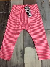 Bonds Baby Stretchies  Leggins /  Size 0 / Pink Stripe / 6-12 months