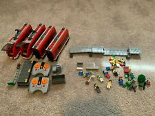 LEGO City Passenger Train (7938) Carriages, Power Functions PF and Minifigs
