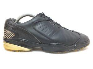 FootJoy FJ Sport Golf Shoes 53145 Flex Zone Black Sz 9W US