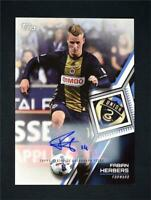 2018 Topps MLS Major League Soccer Auto #119 Fabian Herbers