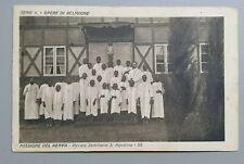 'CARTOLINA OPERE DI RELIGIONE - MISSIONE DEL KENYA VIAGGIATA AREZZO 1924