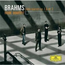 FAUR QUARTETT-BRAHMS: PIANO QUARTETS NOS 1 & 3-JAPAN SHM-CD D20