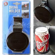 CAR CUP BOTTLE CAN HOLDER FOLDABLE +CLIP ON BEVERAGE HOLDER IN CAR DRINKS TRAVEL