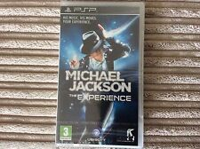 SONY PSP MICHAEL JACKSON: THE EXPERIENCE BRAND NEW AND SEALED GAME!