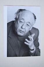 Eugène Ionesco 1975 rare photographie