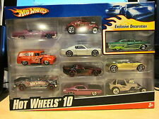 Hot Wheels 10 Pack With Exclusive 56 Mercury