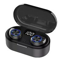 Smart Head Phones Bluetooth Phone Charger True Wireless Earbuds In Ear UK Stock