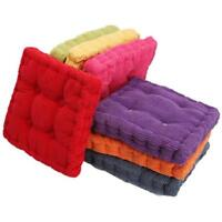 Thick Bedroom Dining Room Cushion Pillow Chair Seat Home Office Tatami Mats CO