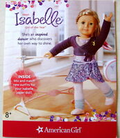 American Girl Isabelle Limited Edition Doll of Year 2014 Paper Pamphlet Booklet