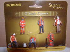 Bachmann Scene Scapes 33156 Maintenance Workers Figure Pack MIB O 027 6 figures