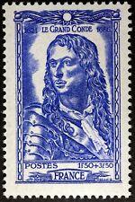 FRANCE CÉLÉBRITÉS LOUIS II PRINCE DE CONDE  TIMBRE NEUF N° 615  **  MNH 1944  B4
