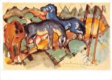 "vintage greeting artistcards  artist Franz Marc ""3139"""
