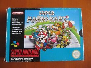 Super Mario Kart Super Nintendo SNES PAL FR