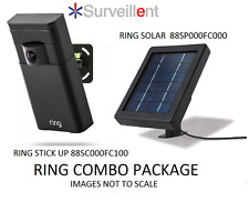 RING PRO WIFI VIDEO DOOR CAMERA 88SC000FC100 & RING SOLAR 88SP000FC000 COMBO KIT