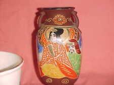 Vintage.Ceramic. Oriental Vase.Made In Japan 10/18