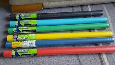 6 x Pacon A TINTE SOLIDE BACHECA carta 2 FT x 12 FT NUOVI