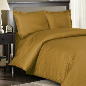 300 TC Linen Sateen Striped 8 PC Beds In A Bag