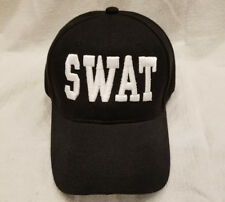 ***SWAT*** SWAT 3D TEXT EMBROIDERED STITCHED BASEBALL CAP HAT FREE SHIPPING