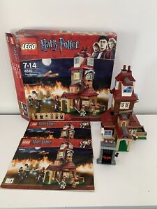 Lego 4840 Harry Potter The Burrow with Box & Instructions - Incomplete