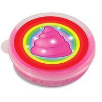 Kids Magic Unicorn Poo Pink Glitter Putty Slime Fun Toy Goo Party Bag Filler
