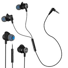 3.5mm Wired Headset Stereo In Ear Headphone With Mic for Phone/PS4/Xbox One/PC