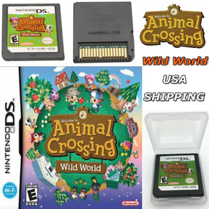 NEW Animal Crossing: Wild World (Nintendo DS) Game Only for DS / DSi / 3DS XL US