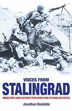 Voices from Stalingrad by Jonathan Bastable exlibrary Fast & Free Post