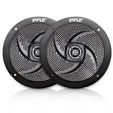 """Pair Pyle PLMRS5B 5.25"""" 180W Low-Profile Slim Style Waterproof Marine Speakers"""