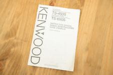 KENWOOD TS-450S/690S manuale di istruzioni