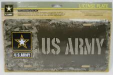 United States U.S. Army Metal License Plate Car Truck Tag Military Digital Camo