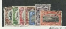 Tonga, Postage Stamp, #63-69 Used & Mint Hinged, 1923