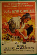 Gone with the Wind-Vivien Leigh-C.Gabble-OS Re 89 50th Anniversary (27x41 inch)