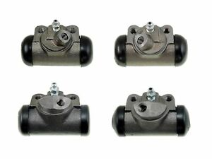 4 Brake Wheel Cylinders 1952-1956 Ford Cars NEW SET 52 53 54 55 56