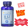 Puritan's Pride Vitamin B-12 1000 mcg Timed Release(250 Caplets)-(EXP:02/21)