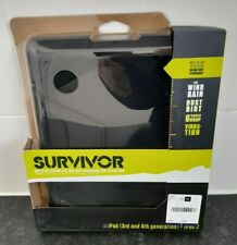 Survivor Military Duty Case for iPad 2/iPad 3rd Gen/iPad 4th Gen Black