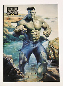 1996 Marvel Masterpieces #98 Hulk (Fleer, Skybox) , Rare, HTF!!!