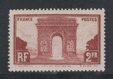 N** NSC MNH FRANCE YT 258 Arc de triomphe cote 95€
