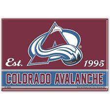 Colorado Avalanche WinCraft 2.5' x 3.5' Fridge Magnet